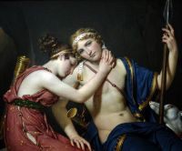 Прощання Телемаха і Евхаріди