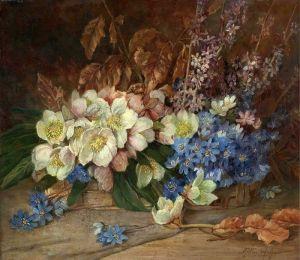 Карлье Макс Натюрморт с цветами 2