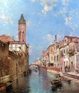 Унтербергер Франц Рихард Рио Санта Барнаба, Венеция