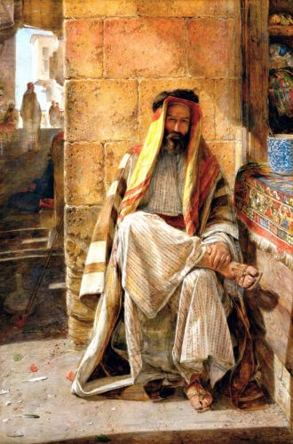 An Arab of the Desert of Sinai