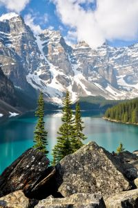 Озеро Морейн, Скалистые горы, Канада