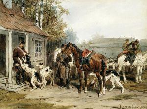 Українське мистецтво Збори на полювання