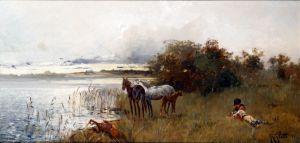 Аллот Роберт Отдых на берегу