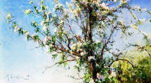 Украинские классики Яблоня цветет