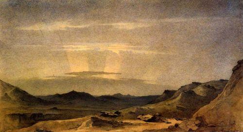 Вид на Каратау с долины Апазир