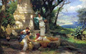 Семирадский Генрих Игра в кости