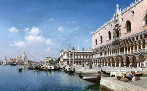 Дель Кампо Федерико The grand canal venice