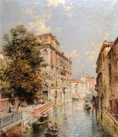 Вид Венеции, Рио Марина