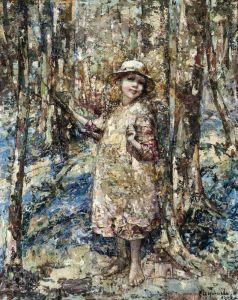 Постимпрессионизм Путь через лес