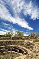 Руины ацтеков  в Нью-Мексико
