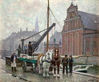 Возле церкви в Гольмени, Дания