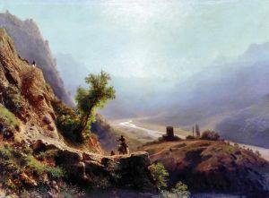Лагорио Лев В горах Кавказа