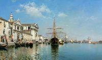Ла-Кьеза-Джезуати на Канале делла-Джудекка, Венеция