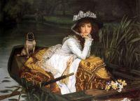 Госпожа в лодке