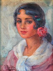 Соролья Хоакин Портрет женщины