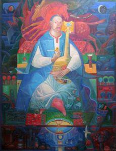 """Українське сучасне мистецтво Із серії """"Козак Мамай"""" - 104"""