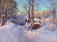 Зимний пейзаж №4