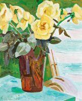 Натюрморт з жовтими квітами