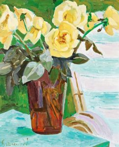 Экспрессионизм Натюрморт с желтыми цветами