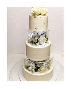 Кондитерские изделия ручной работы Торт свадебный 5