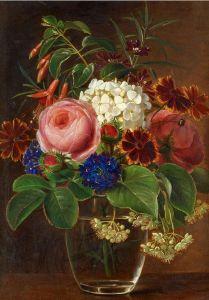 Роби Жан-Батист Цветы в стакане