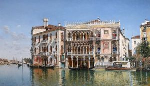 Дель Кампо Федерико The ca doro venice