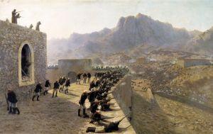 Лагорио Лев Отбитие штурма крепости баязет 8 июня 1877 года