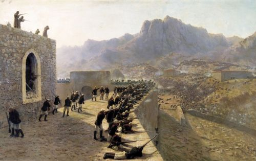 Отбитие штурма крепости баязет 8 июня 1877 года