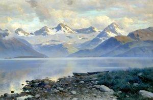 Крижицький Костянтин Озеро в горах