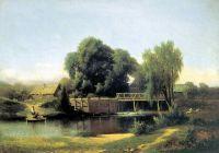 У плотины