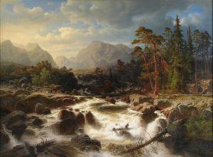 Водопад в Смоланде