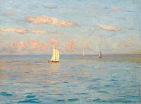 Лодки в море
