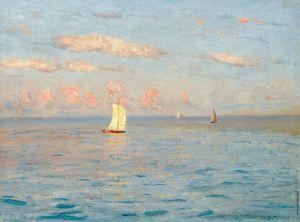 Дубовской Николай Лодки в море