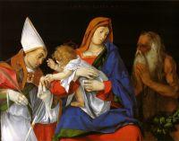 Мадонна с епископом и Святым Онуфрием