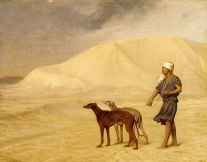 Жером Жан-Леон В пустыне