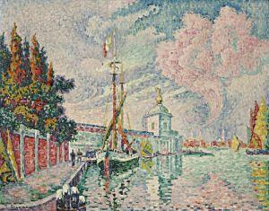 Синьяк Поль Догана да мар, Венеция