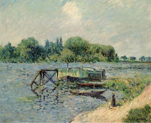 Лаун на Сене в Эрбле