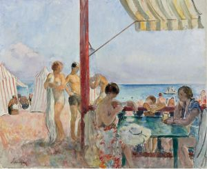 Лебаск Анри Кафе на пляже
