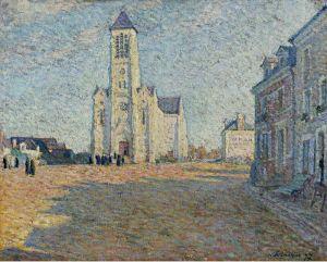 Лебаск Анри Деревенская церковь