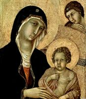 """Маэста"" - Мария с младенцем"