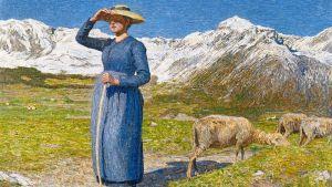 Символизм Полдень в Альпах