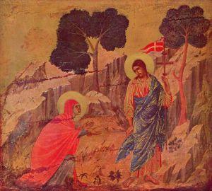 Готика Явлення Христа Магдалині