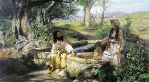 Семирадский Генрих Христос и самаритянка