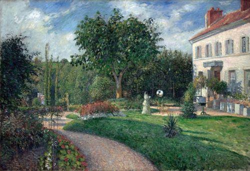 Сад Les Mathurins в Понтуазі