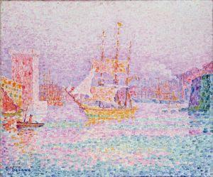 Синьяк Поль Марсельский порт