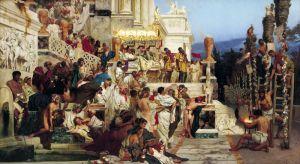 Семирадский Генрих Святые христианства-факелы Нерона