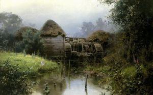 Поленов Василий Старая мельница