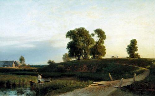 Вид на Лахту в окрестностях Петербурга