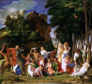Вечеллио Тициан Праздник Богов