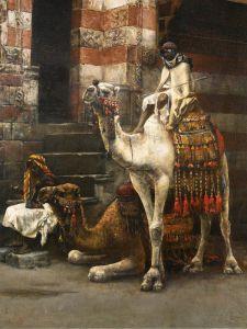 Уикс Эдвин Лорд Игра в шахматы на улице Каира